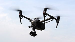 Drone in flight. Learn how to fly with a 3iC Drone Training Course