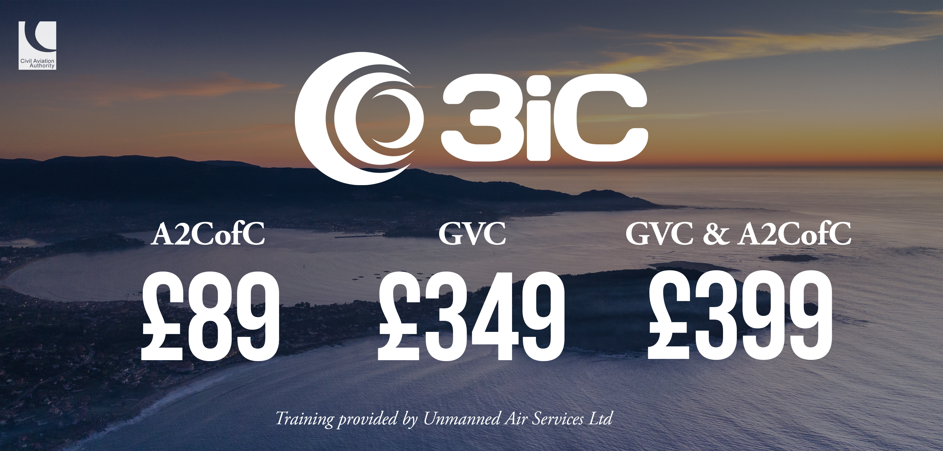3iC Drone Training Prices
